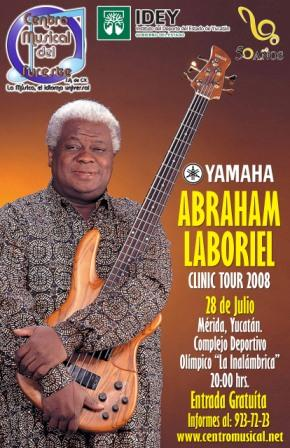 Abraham Laboriel Clinic Tour 2008 Labori10