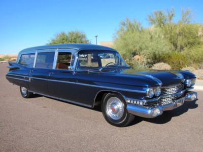 1959 cadillac ambulance Miller Meteor ,ebay  110