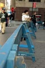 Baricade de police New York 43766810