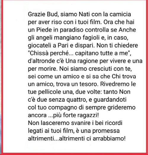 Addio a Bud Spencer Bud12