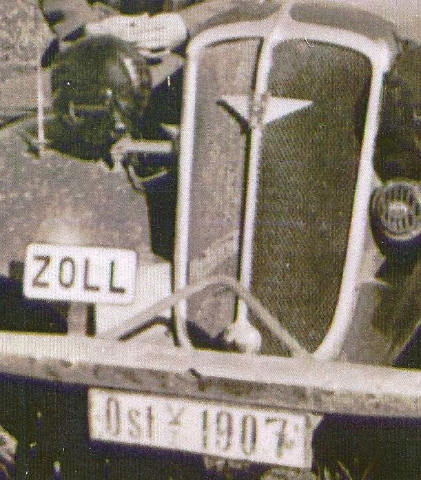 Immatriculation auto Grenzschutz Numyri11