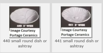 Are these dishes shape 440 and 441 ??  Yes to the 440 and no to the 441. 440_4410