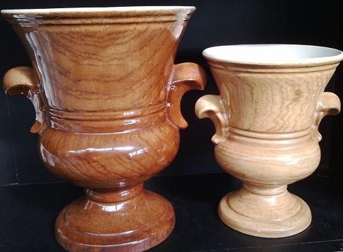 Breathtaking Titian Studio Woodgrain Vase ...... Aa_10