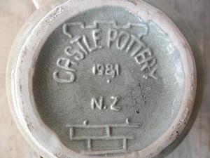 Castle Pottery Mug Castle13