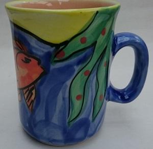 Christine Harris Waipiro Bay mug Christ10