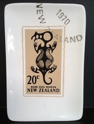 New Zealand stamp dishes Dish110