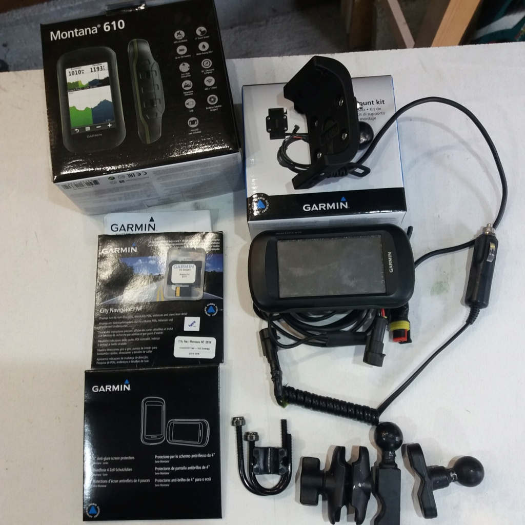 [VDS] GPS ZUMO 660 et Montana 610 20201111