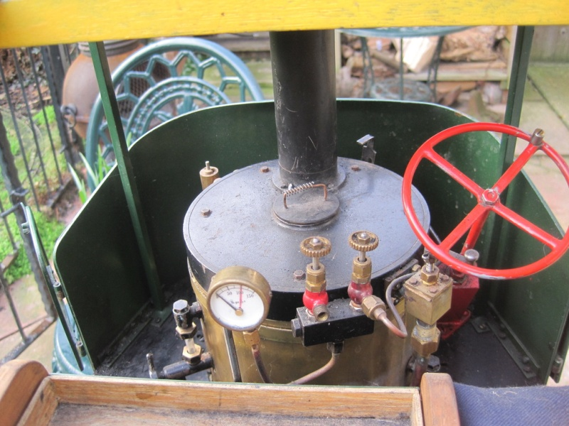 """2"""" Clayton Steam Lorry For Sale. Unusual design not standard run of mill version. (Now SOLD) Clayto11"""