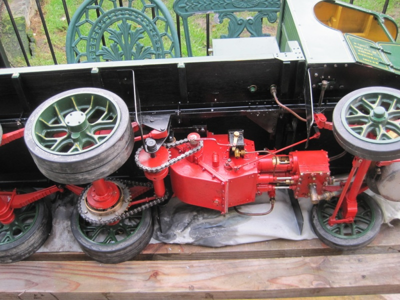 """2"""" Clayton Steam Lorry For Sale. Unusual design not standard run of mill version. (Now SOLD) Clayto12"""