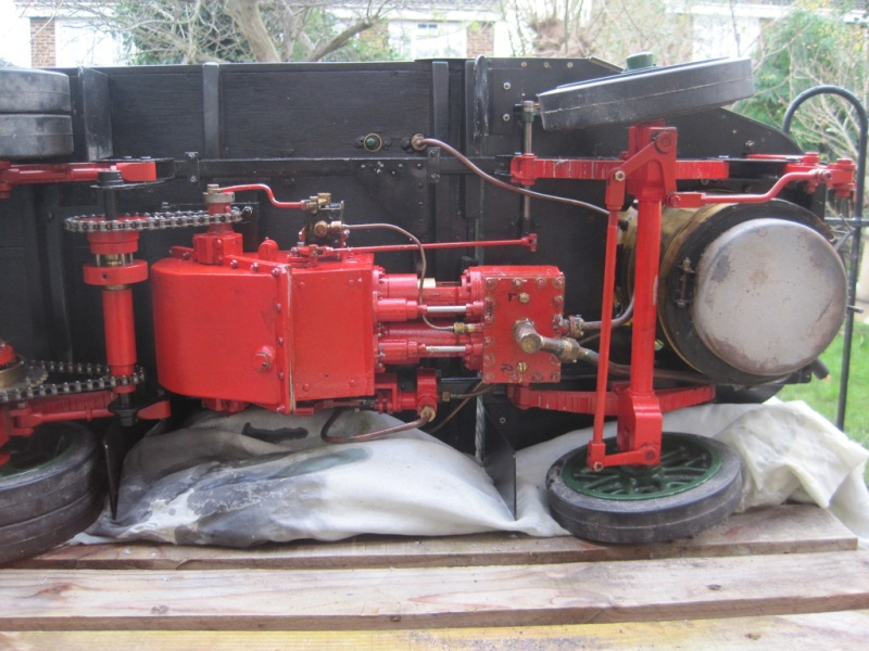 """2"""" Clayton Steam Lorry For Sale. Unusual design not standard run of mill version. (Now SOLD) Clayto13"""