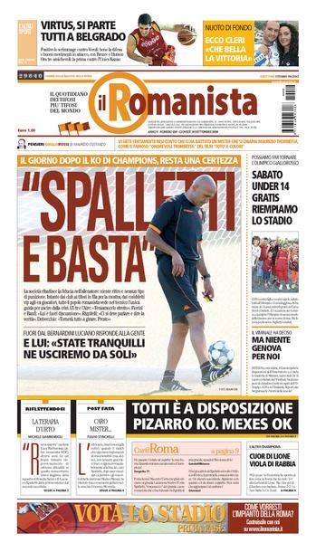 Le quotidien Il Romanista © - Page 12 Rm180911