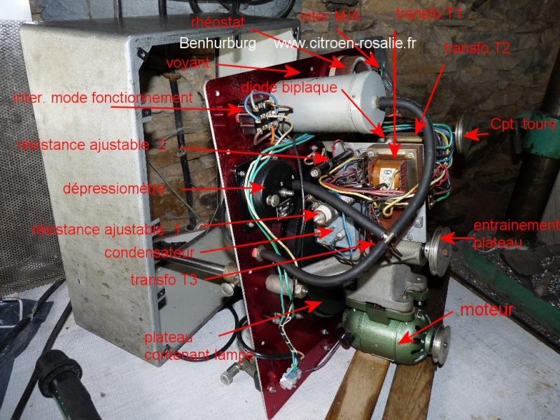 Banc Souriau 1263 ou 1264 : remplacement de la lampe par des leds. P1080322
