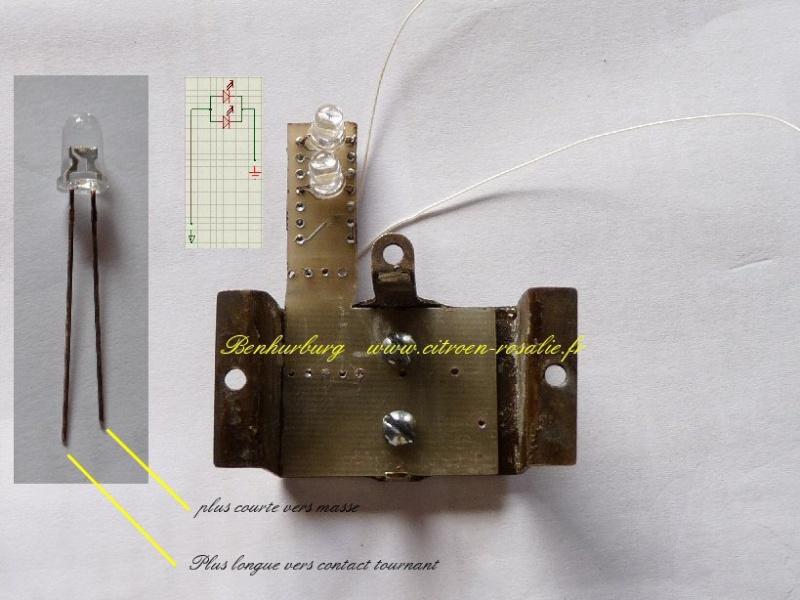 Banc Souriau 1263 ou 1264 : remplacement de la lampe par des leds. - Page 2 Suppor11