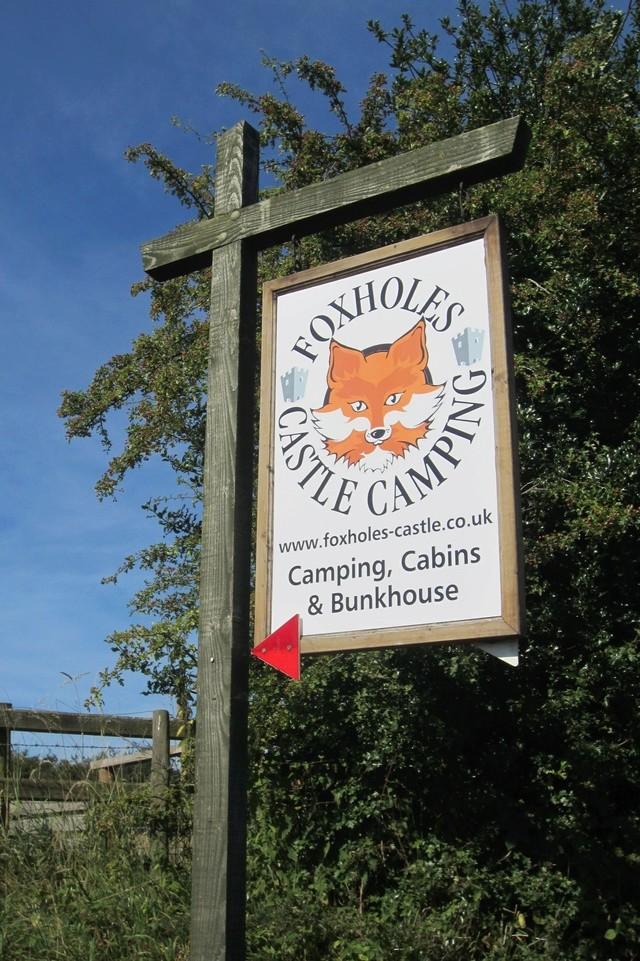 FOXHOLES CAMPSITE BISHOPS CASTLE SHROPSHIRE Img_6425