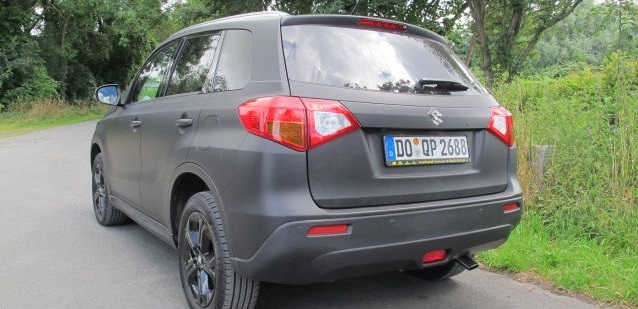 SATIN BLACK VITARA WRAP GERMANY S1603017