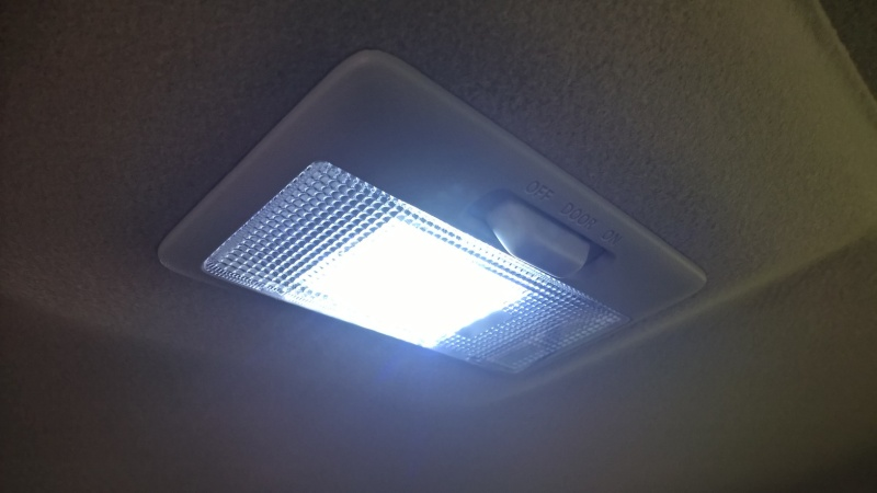LED INTERIOR/LUGGAGE LIGHT UPGRADE Wp_20113