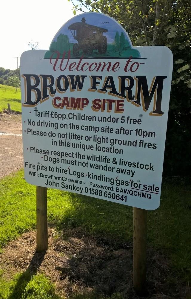 BROW FARM CAMPSITE SHROPSHIRE Wp_20132