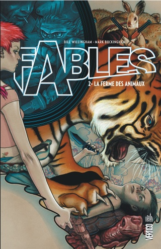 FABLES (Tome 02) LA FERME DES ANIMAUX de Bill Willingham et Mark Buckingham A1mwn710