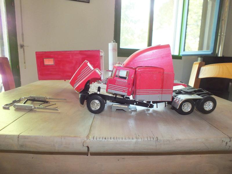 Revell Truck Racing Transport Dscf0043