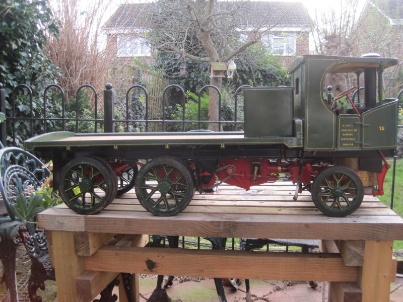 """2"""" Clayton Steam Lorry For Sale. Unusual design not standard run of mill version. (Now SOLD) Clayto10"""