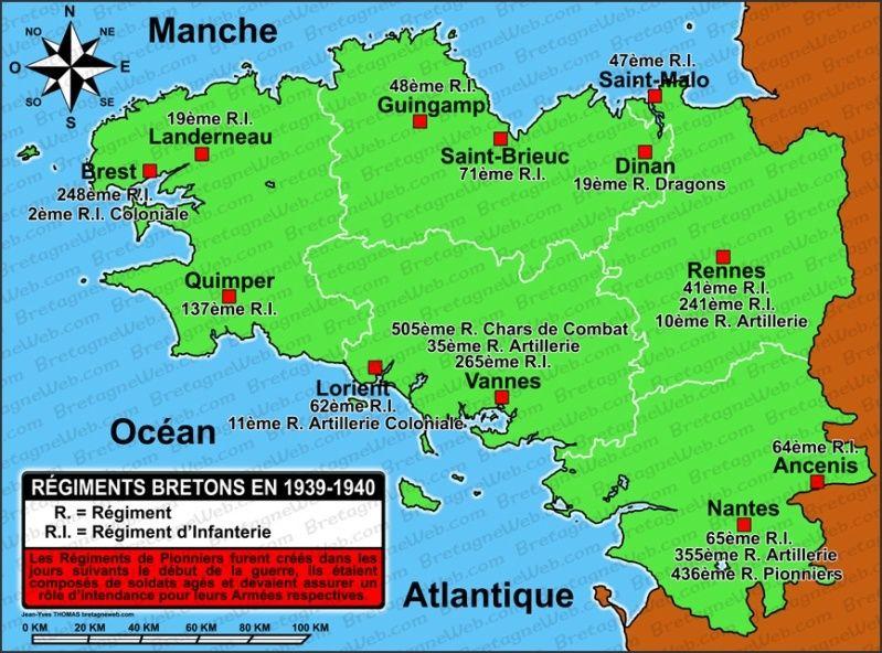 Défenses de la ville de Brest - Juin 1940 39-4010