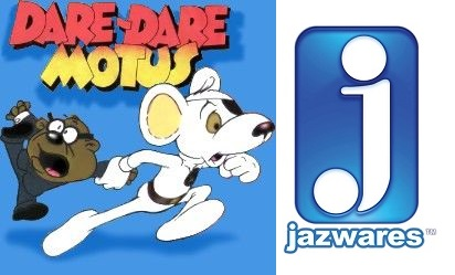 Dare Dare Motus - Danger Mouse (Jazwares) 2016 Dm0010