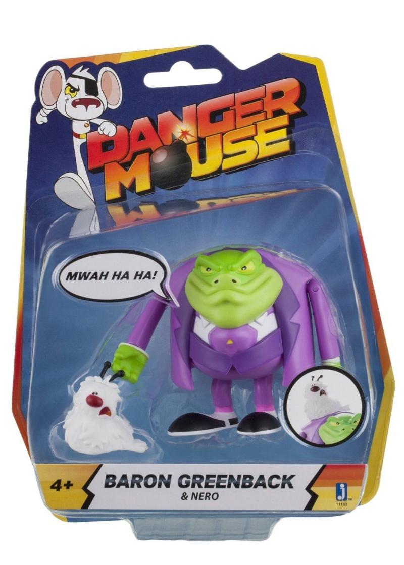 Dare Dare Motus - Danger Mouse (Jazwares) 2016 Dm0510