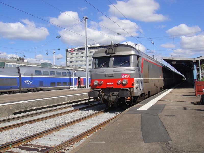 Nantes - Intercités n°3830 Quimper Bordeaux 19 sept 2015 Camare11