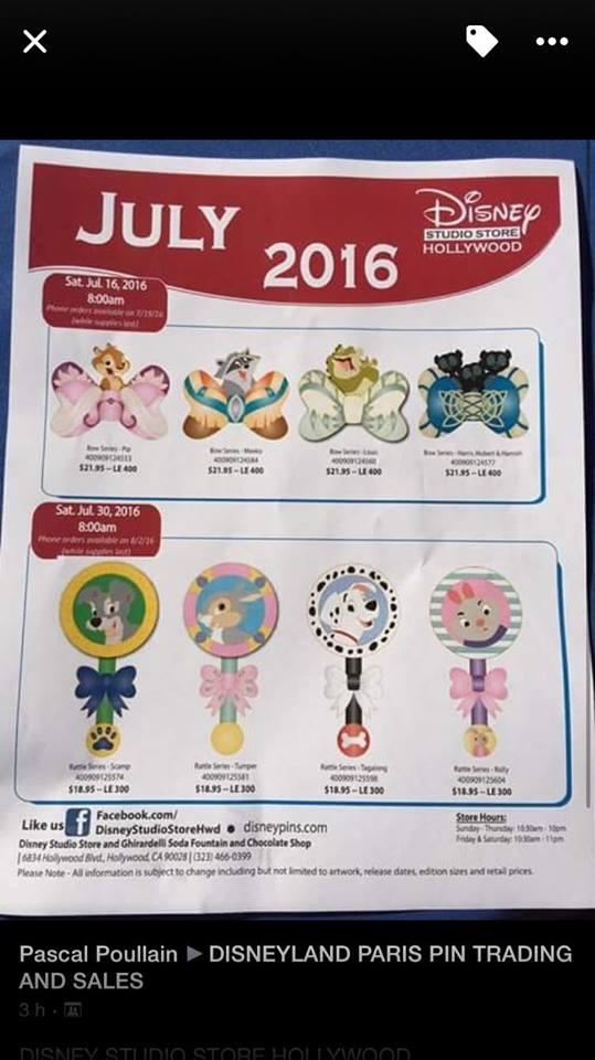 Le Pin Trading à Disneyland Paris - Page 30 13530410