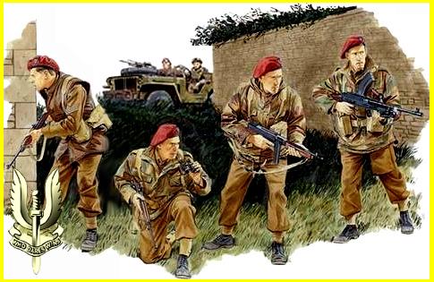 L'épopée des SAS Belges et de leur leader, le Cpt « BLUNT » BLONDEEL  120-2010