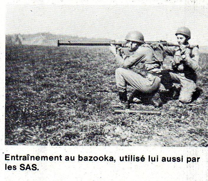 L'épopée des SAS Belges et de leur leader, le Cpt « BLUNT » BLONDEEL  Bazook10