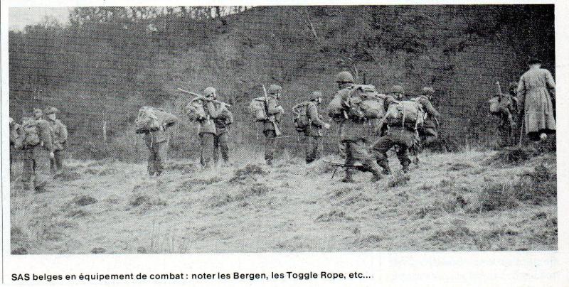 L'épopée des SAS Belges et de leur leader, le Cpt « BLUNT » BLONDEEL  Exerci10