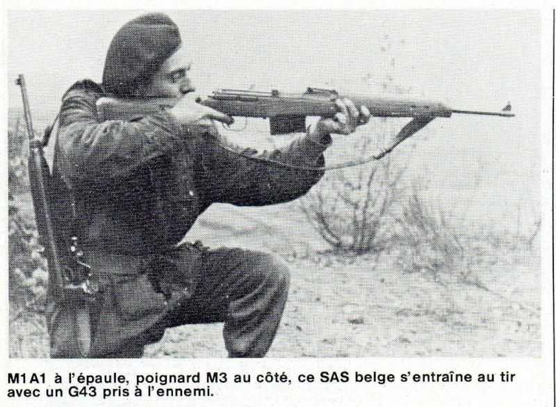 L'épopée des SAS Belges et de leur leader, le Cpt « BLUNT » BLONDEEL  G4310