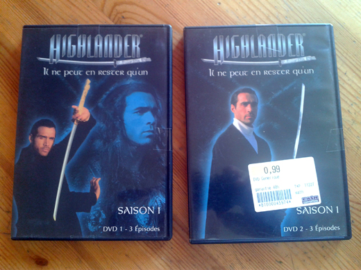 Goseb® et les dvd de Séries 2012-014