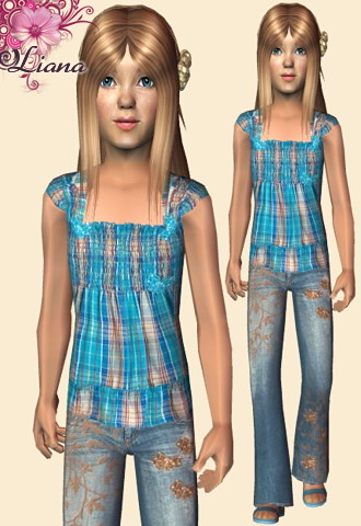 "HD Shop ""Liana&Sims"",just for girls!(children) Lianas18"
