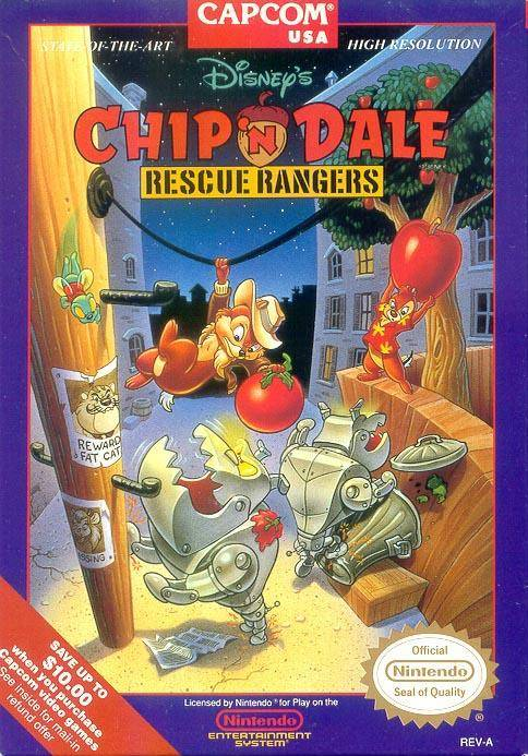 [RT] Chip'N Dale Rescue Rangers - 1990 - NES Chip_n11