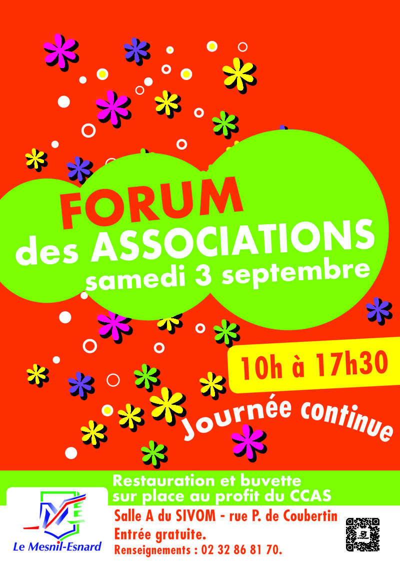 Forum des Associations au Mesnil Esnard Affich10