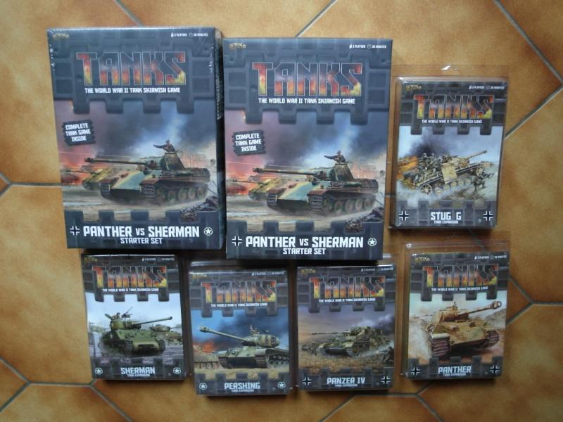 """""""Tanks"""" arrivage et ouverture de la boîte de base Sam_1110"""