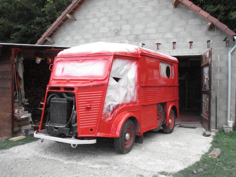 """Présentation & Restauration : HZ ambulance pompie rcarrosserie """"Drouville et Carrier"""" Dsc02110"""