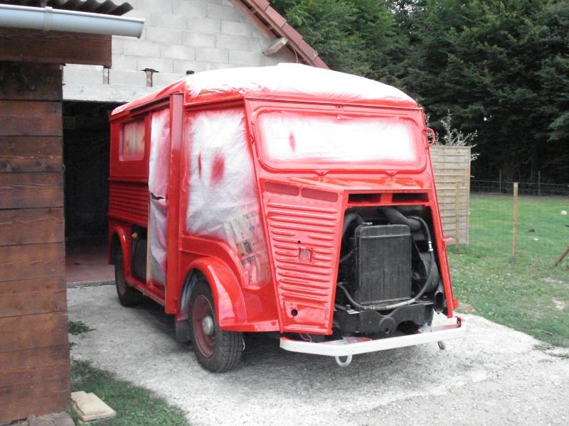 """Présentation & Restauration : HZ ambulance pompie rcarrosserie """"Drouville et Carrier"""" Dsc02111"""
