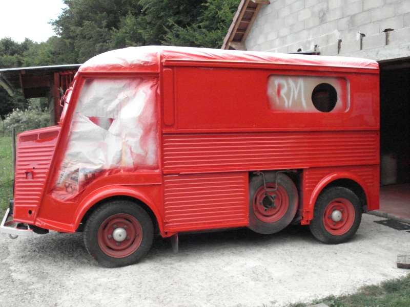 """Présentation & Restauration : HZ ambulance pompie rcarrosserie """"Drouville et Carrier"""" Dsc02112"""