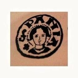 Matriz de sello + S EGIDII PSB : RSPAN : Moneda10