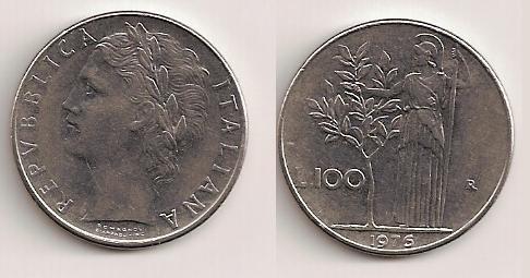 100 Liras - Italia. 100_li10