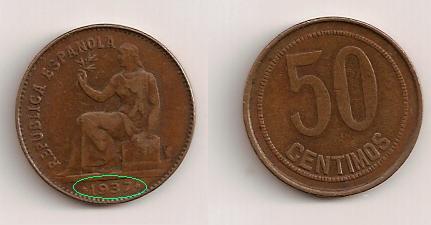 50 cents. en perfecto estado (República española) 318_ni10
