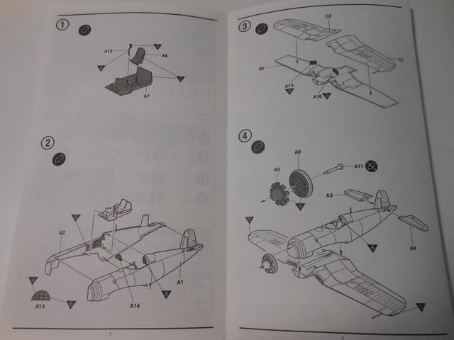 [ACADEMY] CHANCE VOUGHT F4U-1 CORSAIR 1/72ème Réf 1657  Dscn1216