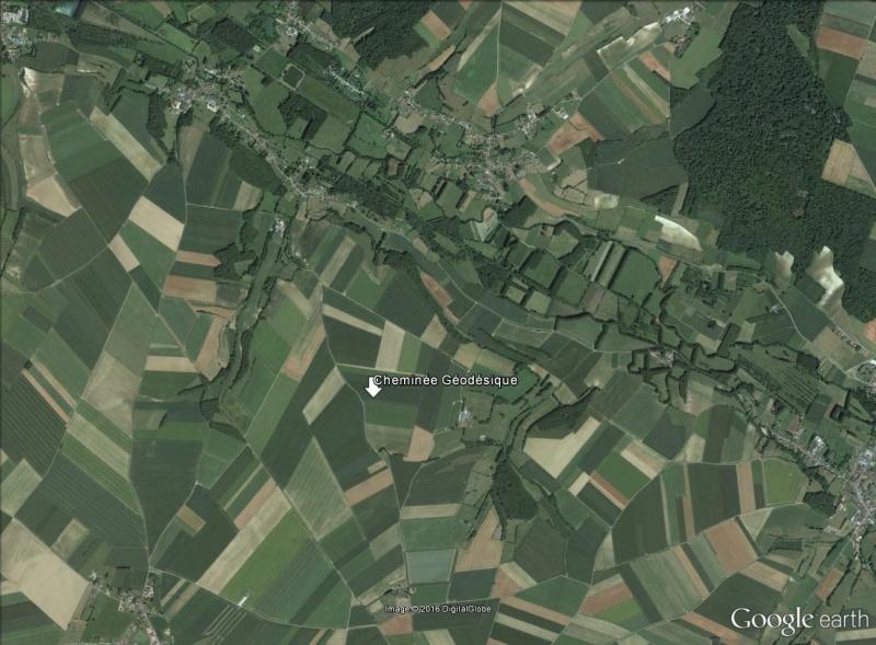 Cheminées géodésiques Chemin11