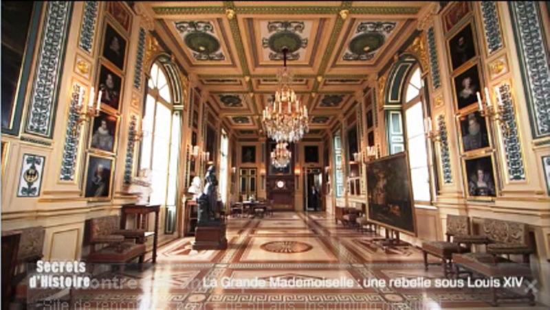 Secrets d'histoire à Eu. La Grande Mademoiselle (Fr.2 19/07) 115