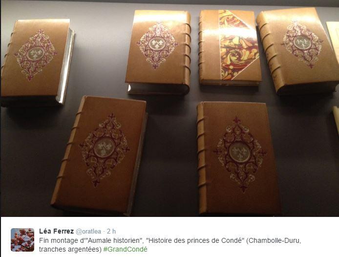 Chantilly, cabinet des livres : le duc d'Aumale historien 315
