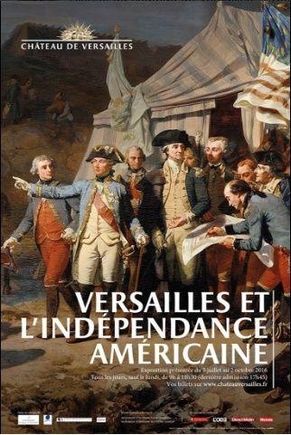 Exposition Versailles et l'Indépendance américaine 9810