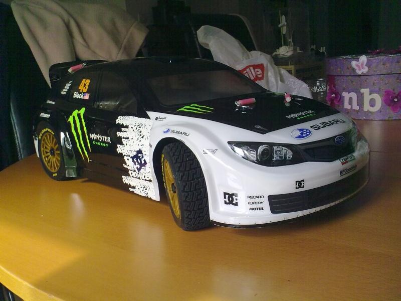 kyosho drx ep : rally game 25042010